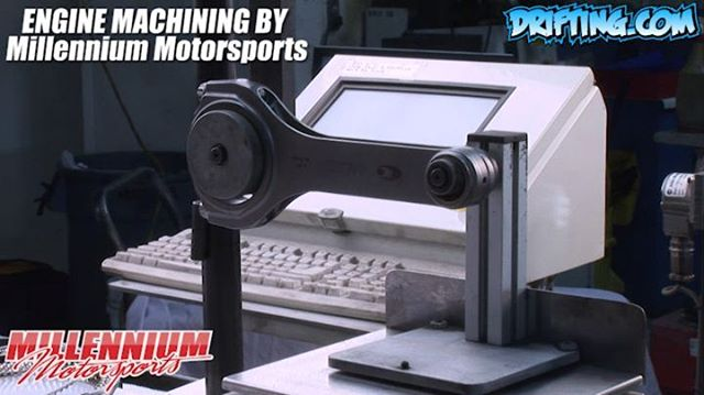Weighing Rods; Big and Little End, Why you need to weigh both ends - Engine Machining / Assembly by @millennium_motorsports Video by @Driftingcom