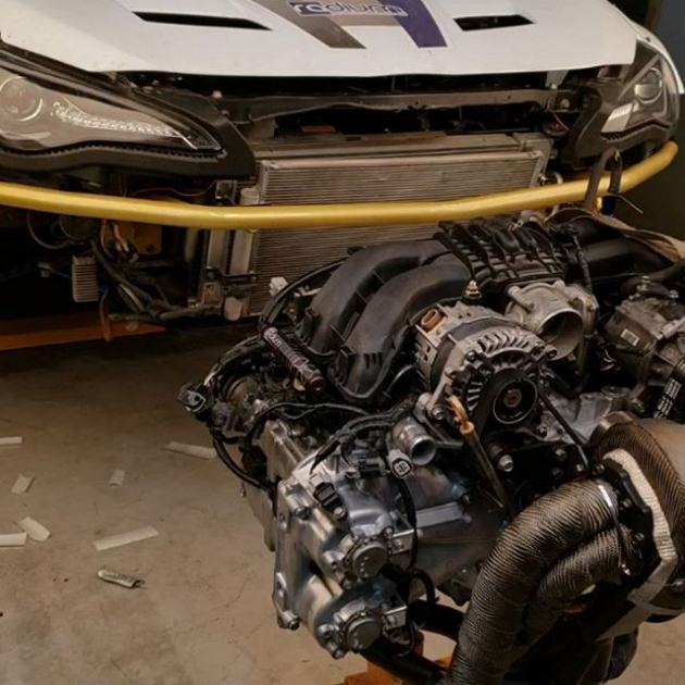 @staycrushing Turbo FRS Engine install , checking on parts