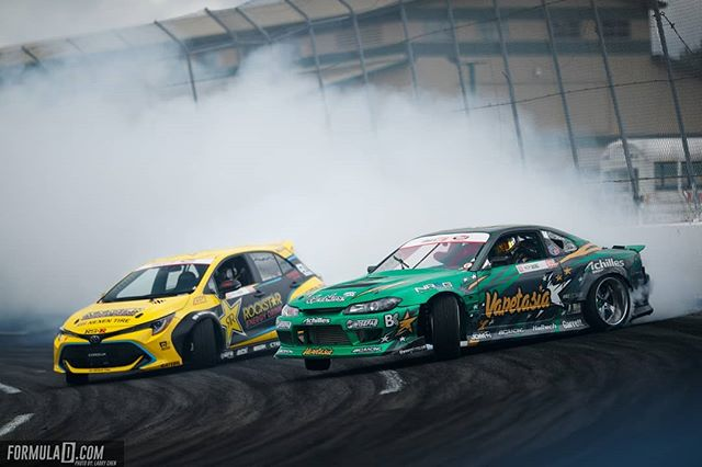 Fredric vs. Forrest - Name your favorite driver battle @fredricaasbo | @nexentireusa vs. @forrestwang808 | @achillestire