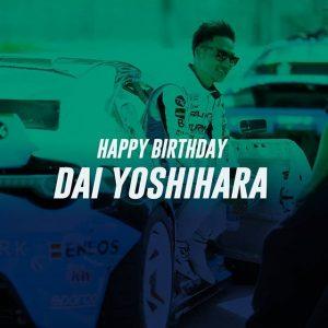 Happy Birth-DAI!@daiyoshihara!! #FormulaDRIFT #FormulaD