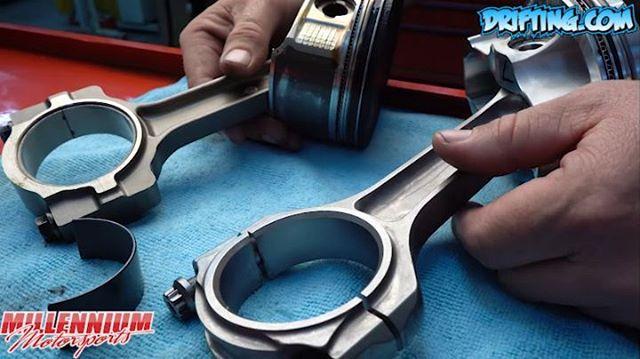 LS Rebuild - Common Mistake - Piston Rod Orientation (Part 1) - Engine Machining / Assembly by @millennium_motorsports Video by @Driftingcom