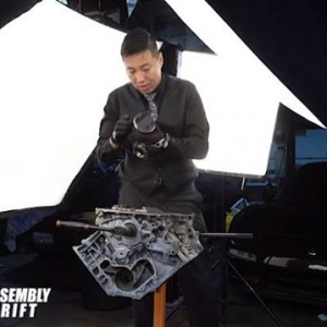 NSX Engine Disassembly / Teardown by @spikedrift / Video by @driftingcom (Removing the Pistons/Rods from the Block) #NSX #DRIFTING #FORMULAD #FORMULADRIFT #DRIFT
