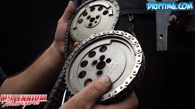 Single Chain VS Dual Chain VS COMP Cams Gear Drive System (Part 1) LS Rebuild - Engine Machining / Assembly by @millennium_motorsports Video by @Driftingcom