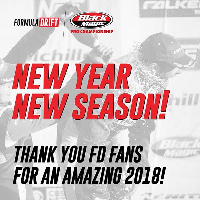 New Year, New Season! Thank you for an amazing 2018!  We'll see you at RD1: The Streets of Long Beach on April 5-6!