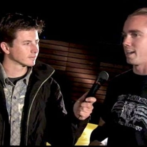 Tanner Foust and Chris Forsberg at the 2006 Rhys Millen Solstice Unveiling
