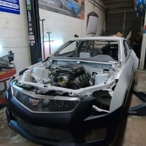 Don't you just love it when a plan comes together!? @austinmeeks316 ATS-V Drift build is taking shape in Episode 6 by @verociousms. Full Video on our Facebook Page #FormulaD #FormulaDRIFT