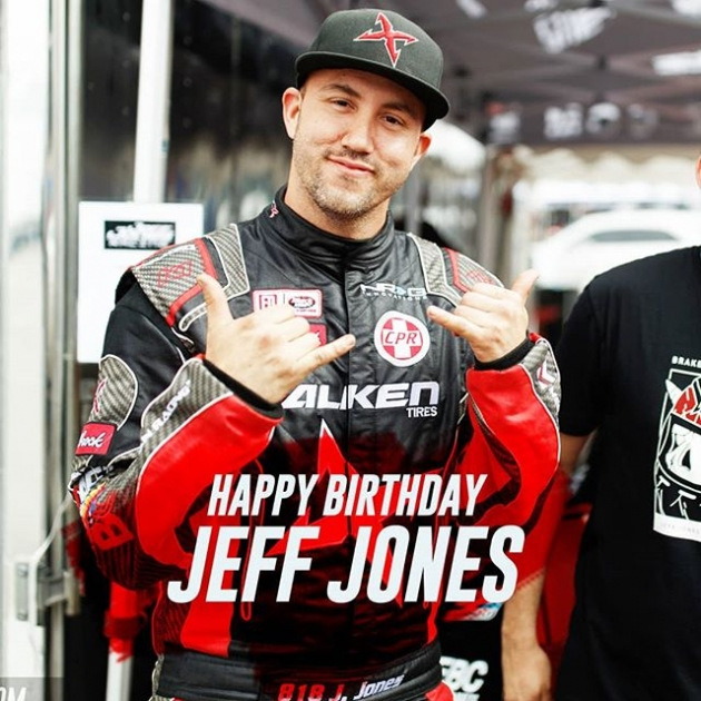 Go @jeffjonesracing! It's your birthday! Celebrate at @oreillyautoparts RD1: The Streets of Long Beach presented by @permatexusa on Apr 5-6th. Tickets on Sale Now: (link in bio) #FormulaD #FormulaDRIFT