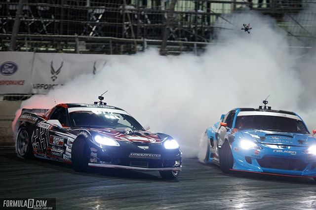Night runners @dirk_stratton | @achillestire vs. @daiyoshihara | @falkentire  It's on like a light at RD1: The Streets of Long Beach on Apr 5-6th. Tickets on Sale Now: (link in bio)