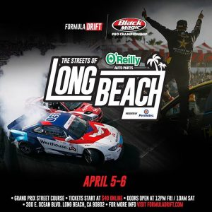 "The Streets are calling...and they are saying ""Get your tickets now!"" We'll see you at @oreillyautoparts RD1: The Streets of Long Beach presented by @permatexusa on Apr 5-6th. Tickets on Sale Now: (link in bio) #FormulaD #FormulaDRIFT"