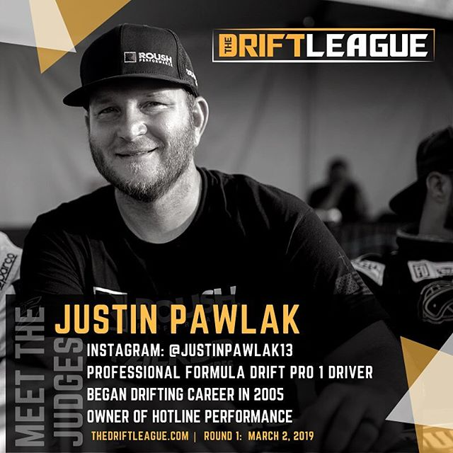 Welcoming our official judges for Round 1 of @thedriftleague presented by @milestar.tires & @motoiq! Be sure to check out @justinpawlak13, @cahill88, and @jeffjonesracing on March 2nd at @irwindalespeedway | Gates open at 3 PM. Spectator tickets are $10 (free parking). See you guys there   @obpmotorsport
