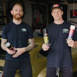 @blackmagicshine is proud to announce three new products to help clean and protect your tires and wheels this Spring: Intense Wheel & Tire Cleaner Aerosol, Bleche-Wite Tire Cleaner Aerosol, and Tire Protectant with UV Guard. Behold as FD's @chrisforsberg64 and @ryantuerck unveil them now! #FormulaDRIFT #FormulaD