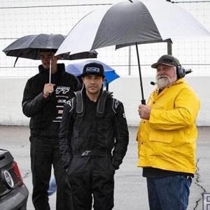 @mason_drives made sure to bring out his umbrella boiz to Round 1 ️ 📸 @rso_photo #thedriftleague #MotoIQ #FormulaDRIFT #irwindalespeedway #milestar #milestartires #patagoniamt #theofficialtireofadventure @obpmotorsport #obpmotorsport