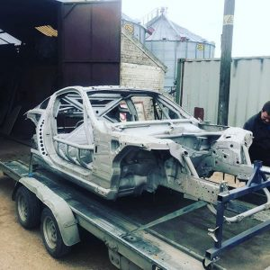 It's fresh out the shed after blasting and now on it's way for paint.     @obpmotorsport @goodridgeltd @aet_turbos @aetmotorsport @turbosmarthq @xtremeclutch @paint_tec_refinishing @sparco_official @gsmperformance @_wisefab_ @yellowspeedracing @epracing_ltd @apwengineering @pipercrossairfilters @sfs_performance_hoses @ebcbrakesofficial @fiveoracing @fiveomotorsport #drift #drifting #driftcar #sparco #nissan #350z #350znation #350 #znation #zociety #toyota #2jz #nismo #welding #weldporn #race #racecar #money #wednesday #wednesdaywisdom #picoftheday #cookies #cookie #m #a #r #k #cookierageracing
