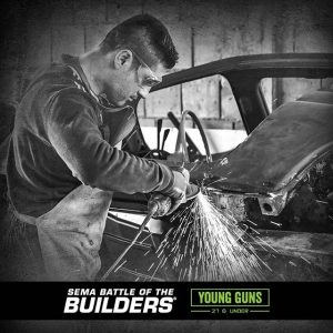 The @semashow - Young Guns Program joins us at our season kickoff of the Formula DRIFT @blackmagicshine PRO Championship, April 5–6. 10 builders | 27 or younger competing for a chance to participate in the 2019 SEMA Battle of the Builders. Register here: semayoungguns.com #FormulaDRIFT #FormulaD #FDLB #SEMA