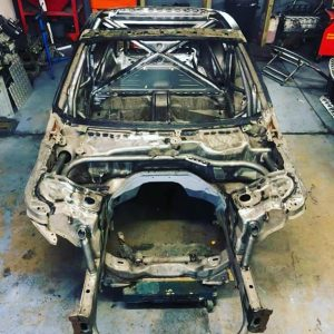 Well that's it, fab work complete @sr_autobodies has worked his magic. I would like to say a MASSIVE thank you to Steve for all the hard work. Pictures just don't do it justice it's now off to the blasters and then a coat of primer.     @obpmotorsport @goodridgeltd @aet_turbos @aetmotorsport @turbosmarthq @xtremeclutch @paint_tec_refinishing @sparco_official @gsmperformance @_wisefab_ @yellowspeedracing @epracing_ltd @apwengineering @pipercrossairfilters @sfs_performance_hoses @ebcbrakesofficial @fiveoracing @fiveomotorsport #drift #drifting #driftcar #sparco #nissan #350z #350znation #350 #znation #zociety #toyota #2jz #nismo #welding #weldporn #race #racecar #money #monday #mondaymotivation #cookies #cookie #m #a #r #k #cookierageracing