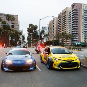 About last night... Yesterday's Formula DRIFT Long Beach Parade presented by @toyotaracing was a fun one to remember! . #formulad #formulaDRIFT #fdlb 📸:@lusciousy
