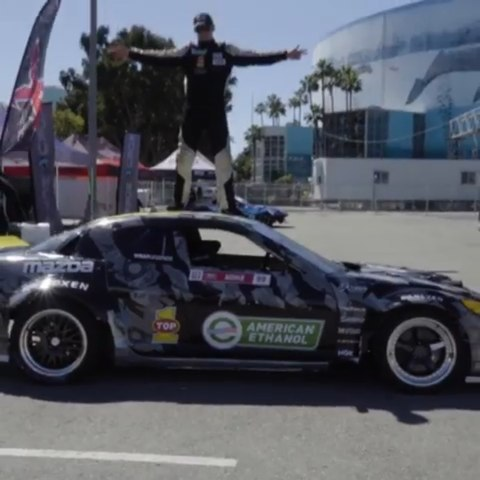 Check out @americanethanol (@repost_via_instant) Hope you guys are as excited about the 2019 season as we and @kylemohanracing are! Here's his video debuting the 2019 Mazda RX8 before the Long Beach round earlier this month.