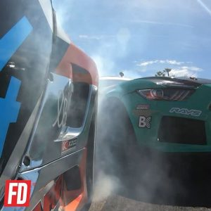 #FDLB Wheel-life action : @gopro @daiyoshihara vs. @justinpawlak13 | @falkentire Get close to the action at @autozone RD2: Scorched presented by @blackmagicshine in Orlando, FL. Apr 26-27. Tickets: http://bit.ly/FDORL2019 #FormulaD #FormulaDRIFT #FDORL