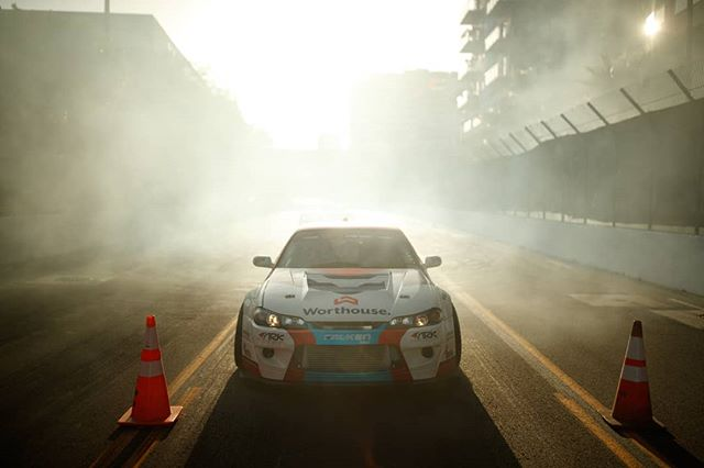 It Goes Down at Magic Hour. Watch @motegiracing  Super Drift LIVE tonight at 6:40PM PST | 9:40PM EST: (Link in Bio)