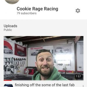 Just dropped my latest Vlog, head over to my YouTube channel now and check it out link in my bio!!     @goodridgeltd @aet_turbos @aetmotorsport @turbosmarthq @obpmotorsport @xtremeclutch @paint_tec_refinishing @sparco_official @gsmperformance @_wisefab_ @yellowspeedracing @epracing_ltd @apwengineering @pipercrossairfilters @sfs_performance_hoses @ebcbrakesofficial @fiveoracing @fiveomotorsport #drift #drifting #driftcar #sparco #nissan #350z #350znation #350 #znation #zociety #toyota #2jz #nismo #welding #weldporn #race #racecar #money #tuesday #tuesdaymotivation #picoftheday #cookies #cookie #m #a #r #k #cookierageracing
