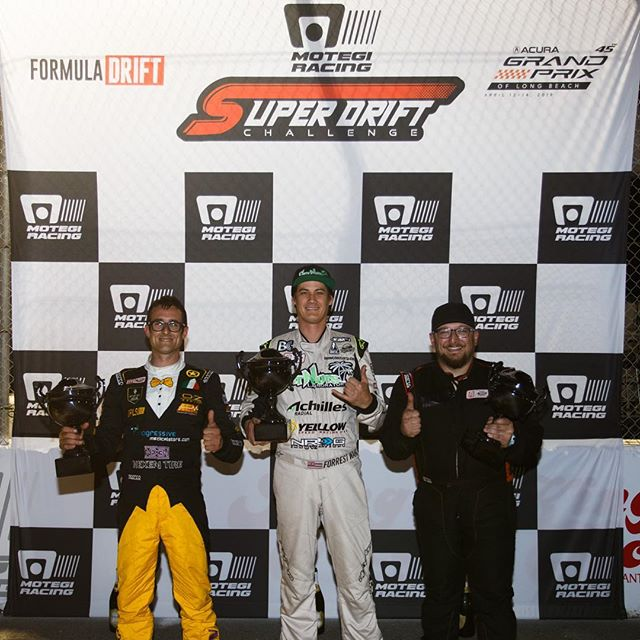 Motegi Racing Super Drift Challenge Friday Results: 1. @forrestwang808 2. @federicosceriffo17 3. @faruk.kugay |