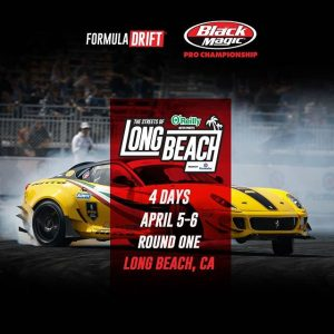 Only 4 Days until our much anticipate FD 2019 | @blackmagicshine Season! Who are you rooting for? @oreillyautoparts RD1: The Streets of Long Beach presented by @permatexusa on Apr 5-6th. Tickets | Watch the Media Day Live Stream (Apr 2): Link in bio   #FormulaD #FormulaDRIFT #FDLB