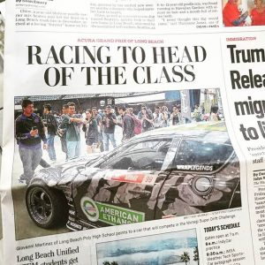 Our Mazda RX8 made it into the @presstelegram #newspaper #KyleMohanRacing #ETHANOL #EarthKind #formuladrift #drifting #drift #hometown #lb #longbeach @americanethanol @top1oil @exedyusa @mazdatrix @precisionturbo @mishimoto @wppro @xxrwheel @meganracing @swiftsprings  @ngksparkplugs @haltechecu @getnrg @fuelsafe @wraplegends @radiumengineering @hgtprecision @drinkdoc @officialdnagarage @winmaxusa @thunderboltfuel @_wisefab_  @sikkymanufacturing @ptpturboblankets @nferaclub @edelbrockusa @ef1motorsports @winmaxusa @tunedbynelson_s