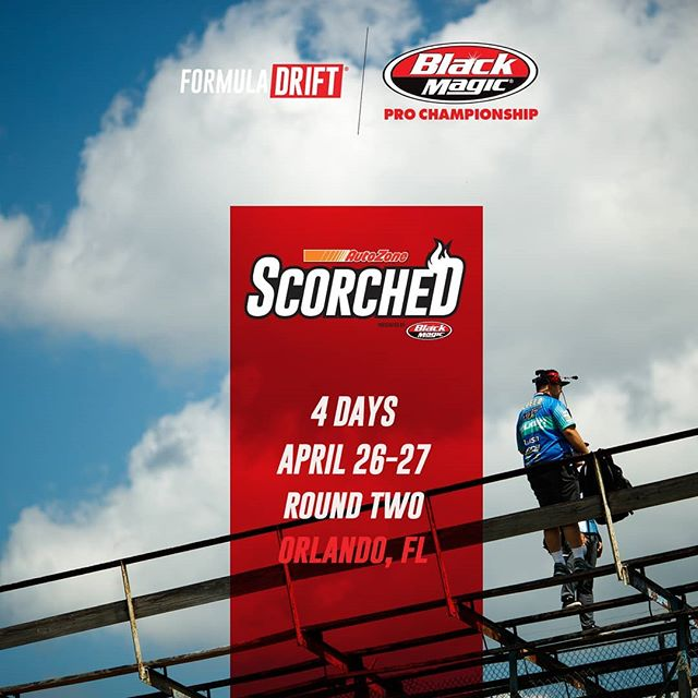 The competition is heating up!  Only 4 more days until  @autozone RD2: Scorched presented by @blackmagicshine in Orlando, FL. Apr 26-27. Tickets: (link in bio)