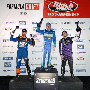 Your FD 2019 #FDORL | @autozone RD2: SCORCHED presented by @blackmagicshine Podium! 1st - @odidrift 2nd - @chrisforsberg64 3rd - @chelseadenofa Thank you Orlando & Fans around the world for another great event! #FormulaDRIFT #FormulaD