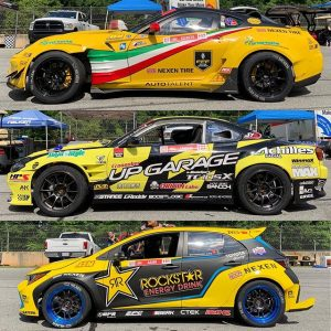 2019 @formulad liveries: Yellow edition. #fdliveries #driftcarliveries #drifting #ferrari #s15 #corolla
