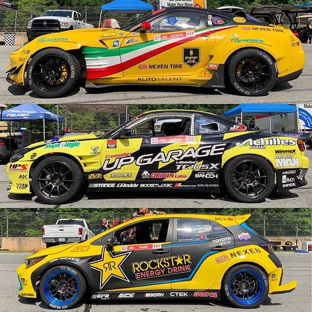 2019 @formulad liveries: Yellow edition.