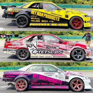 2019 @formuladjapan liveries: JZX edition. #formuldriftjapan #fdjapan #drifting #driftcarliveries #fdliveries