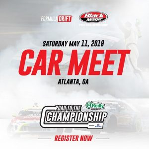 Atlanta: Join us for our Car Meet at #FDATL this Saturday! Register Now: (Link in Bio) #FormulaDRIFT #FormulaD