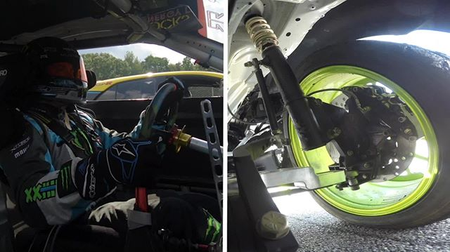 Don't want to keep you in suspense any longer. Check out this video of @VaughnGittinJr   @NittoTire's steering vs. suspensions  FD 2019   @advanceautoparts RD4: The Gauntlet by @blackmagicshine in Wall, NJ. June 7-8. Tickets: (link in bio)