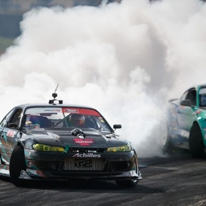 Goodin, Better, Best @PatGoodin | @AchillesTIre vs. @JustinPawlak13 | @FalkenTire FD 2019 | Cloud alert for @advanceautoparts RD4: The Gauntlet by @blackmagicshine in Wall, NJ. June 7-8. Tickets: (link in bio) #FormulaD #FormulaDRIFT #FDNJ