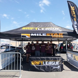 If you're in Vegas, be sure to stop by @holleylsfest and come see @thedriftleague staff and a few of our drivers compete in the @lucasoilproducts / @motoiq Drift Challenge!  #thedriftleage #motoiq #milestartires #lsfest #lsfestwest