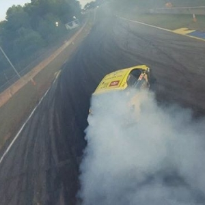 Our Eye in the Sky captures a near perfect qualifying run by @fredricaasbo   @nexentireusa   @toyotaracing at #FDATL See what @johnny_fpv sees on our LIVE Stream of @oreillyautoparts RD3: Road to the Championship presented by @permatexusa starting at 115PM PST   415PM EST: (Link in Bio) FD 2019   @blackmagicshine #FormulaDRIFT #FormulaD