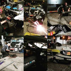 So we had some work to do last night. #teamwork makes the dream work. #formuladrift #drifting #drift #formulad #turbo #boost #Mazda #RX8 #AmericanEthanol #EngineSmart #EarthKind #ChooseBiofuels @americanethanol @top1oil @exedyusa @mazdatrix @precisionturbo @mishimoto @wppro @xxrwheel @meganracing @swiftsprings @ngksparkplugs @haltechecu @getnrg @fuelsafe @wraplegends @radiumengineering @hgtprecision @drinkdoc @officialdnagarage @winmaxusa @thunderboltfuel @_wisefab_ @sikkymanufacturing @ptpturboblankets @nferaclub @edelbrockusa @ef1motorsports @winmaxusa @tunedbynelson_s