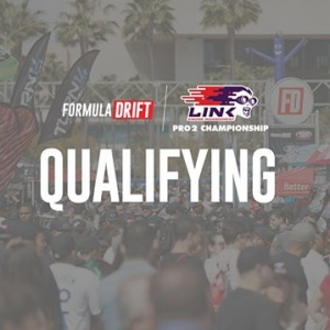 WATCH #FDATL | @link_ecu PRO 2 Qualifying LIVE Starts at 3:15PM EST: (Link in Bio) #FormulaDRIFT #FormulaD