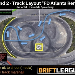 We felt inspired by our @formulad friends who are getting ready to compete at #FDATL this weekend, so we decided to make our own version for Round 2! What do you guys/gals think? 😎  •• @thedriftleague is presented by @motoiq & @milestar.tires |Visit TheDriftLeague.com for more info! #thedriftleague #MotoIQ #FormulaDRIFT #irwindalespeedway #milestar #milestartires #patagoniamt #theofficialtireofadventure @obpmotorsport #obpmotorsport