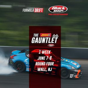 We're only 1 week away from @AdvanceAutoParts RD4: The Gauntlet presented by @BlackMagicShine in Wall, NJ! June 7-8. Tickets: (link in bio) #FormulaD #FormulaDRIFT #FDNJ
