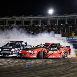 Who else is excited for the future of this season's Pro 2 drivers!? @NexenTireUSA | @JoshRobinson530 vs. @OlaJaeger FD 2019 | @link_ecu #FormulaD #FormulaDRIFT #FDATL
