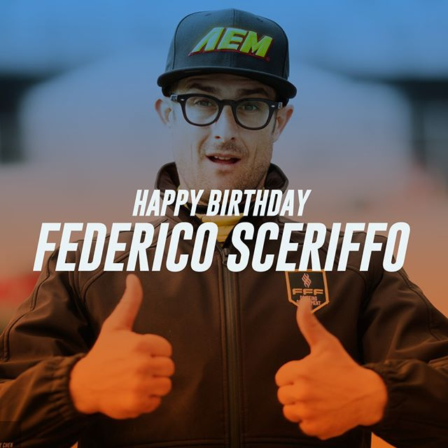 Wishing @federicosceriffo17 a Happy Birthday! 🏻🏻
