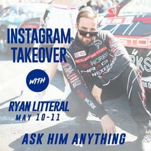 You could ask @ryanlitteral-ly anything as he takes over our Instagram May 10-11! Leave your questions below or check into stories all weekend during #FDATL! #FormulaDRIFT #FormulaD