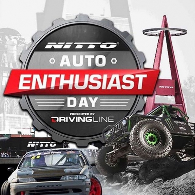 Catch us at the @nittotire #autoenthusiastday TODAY from 12-5 PM! Admission is FREE. Stop by our booth and say hi  #thedriftleague #nittoautoenthusiastday