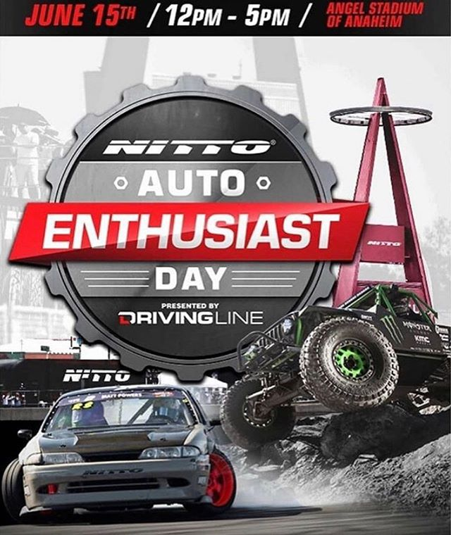 Catch us at the @nittotire TODAY from 12-5 PM! Admission is FREE. Stop by our booth and say hi