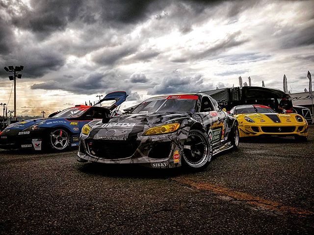 I took this shot during a practice session. @formulad has a cool field of cars.  @chrisforsberg64 @kylemohanracing .  @nferaclub  @nexentireusa .