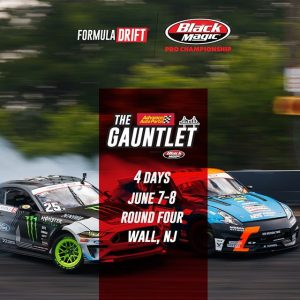 It's June and #FDNJ is coming soon! 4 more days! We'll see you at @AdvanceAutoParts RD4: The Gauntlet presented by @BlackMagicShine in Wall, NJ. June 7-8. Tickets: (link in bio) FD 2019 | #FormulaDRIFT #FormulaD