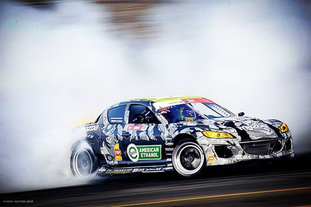 Just sending it at  10'000 RPM motor, @top1oilusa keeping us well oiled. ................................. ................  Kyle Mohan Racing Mazda RX8