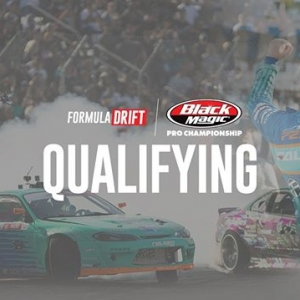 Watch #FDNJ Qualifying LIVE at 12PM PST | 3PM EST: (Link in Bio) @AdvanceAutoParts RD4: The Gauntlet presented by @BlackMagicShine #FormulaDRIFT #FormulaD